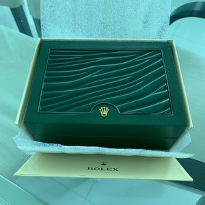 Rolex Box and papers